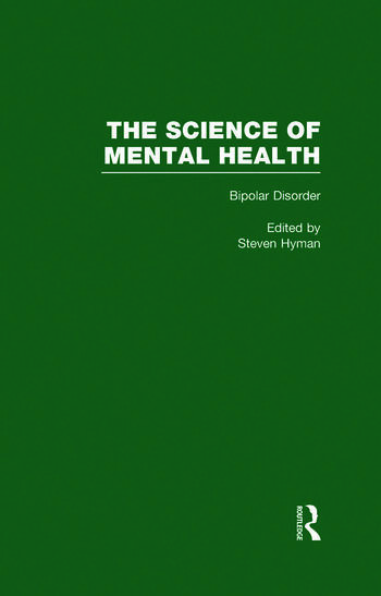 Bipolar Disorder The Science of Mental Health book cover