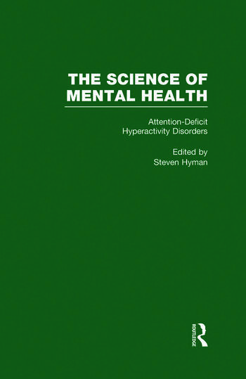 Attention Deficit Hyperactivity Disorders The Science of Mental Health book cover