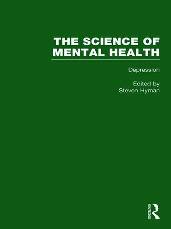 Depression The Science of Mental Health book cover