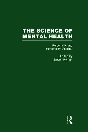 Personality and Personality Disorders The Science of Mental Health book cover