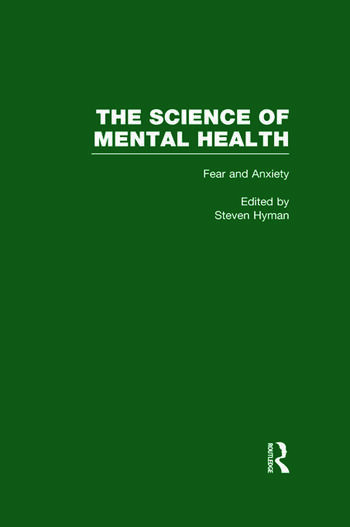 Fear and Anxiety The Science of Mental Health book cover