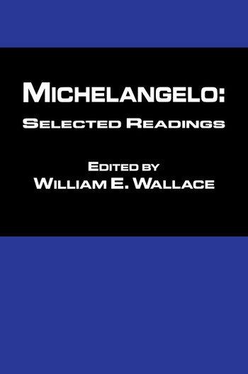 Michaelangelo: Selected Readings book cover