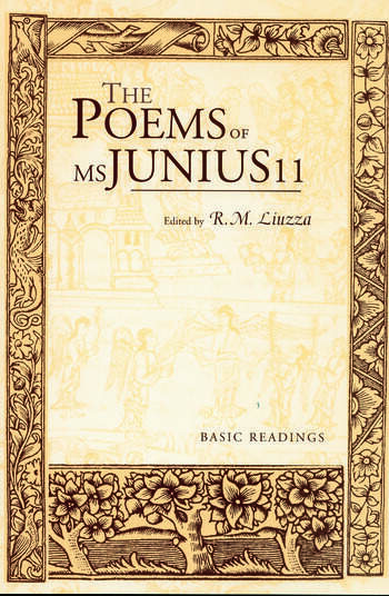 The Poems of MS Junius 11 Basic Readings book cover
