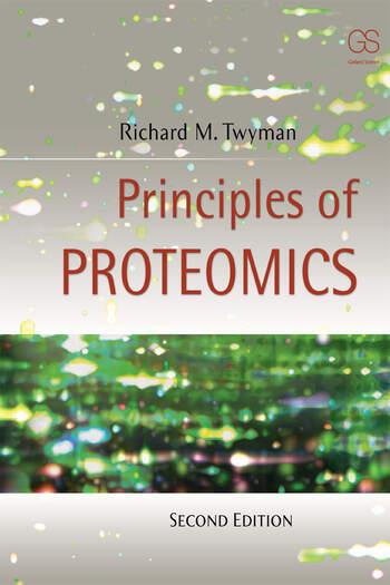 Principles of Proteomics book cover
