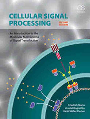 Cellular Signal Processing An Introduction to the Molecular Mechanisms of Signal Transduction book cover