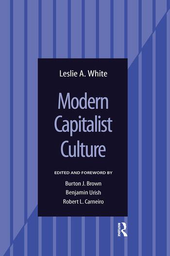 Modern Capitalist Culture book cover
