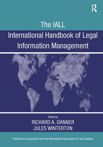 The IALL International Handbook of Legal Information Management book cover