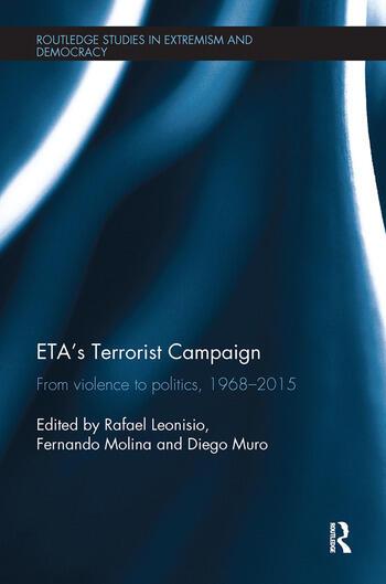 ETA's Terrorist Campaign From Violence to Politics, 1968–2015 book cover