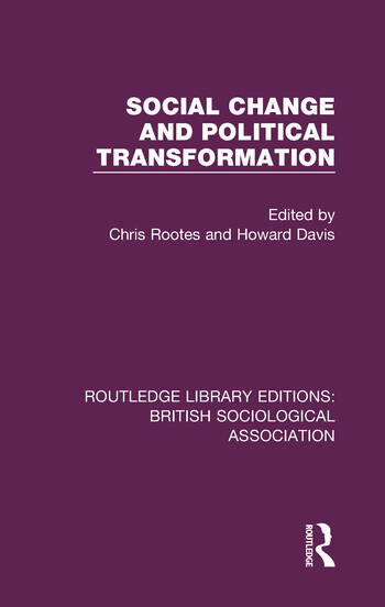 Social Change and Political Transformation book cover