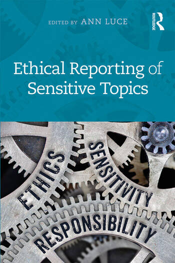 Ethical Reporting of Sensitive Topics book cover