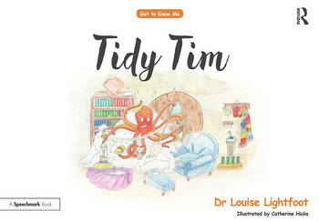 Tidy Tim Get to Know Me: OCD book cover