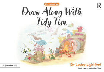 Draw-along Tidy Tim Get to Know me: OCD book cover