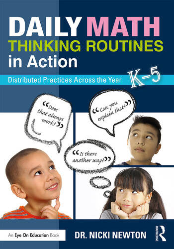 Daily Math Thinking Routines in Action Distributed Practices Across the Year book cover