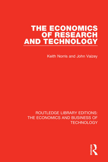 The Economics of Research and Technology book cover
