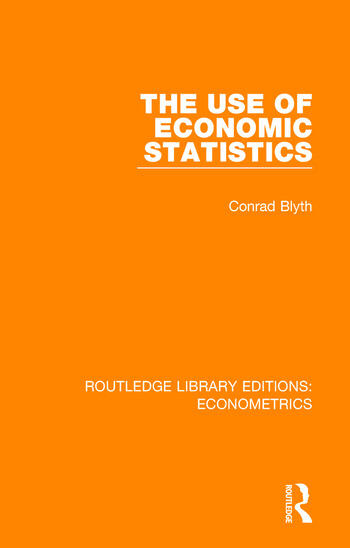 The Use of Economic Statistics book cover