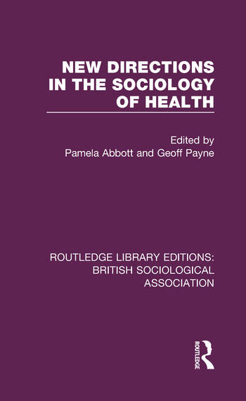 New Directions in the Sociology of Health book cover