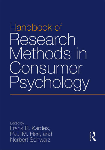 Handbook of Research Methods in Consumer Psychology book cover
