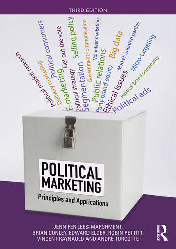 Political Marketing Principles and Applications book cover