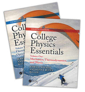 College Physics Essentials, Eighth Edition (Two-Volume Set) book cover