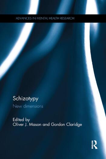 Schizotypy New dimensions book cover