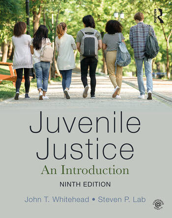 Juvenile Justice An Introduction book cover