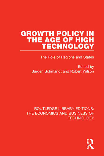 Growth Policy in the Age of High Technology book cover