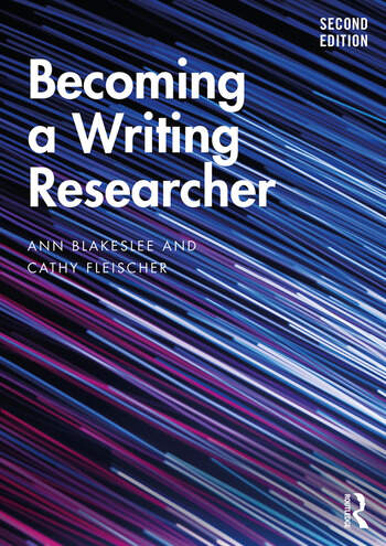 Becoming a Writing Researcher book cover