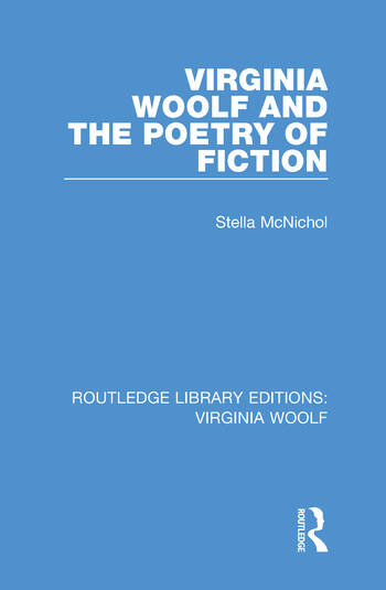 Virginia Woolf and the Poetry of Fiction book cover