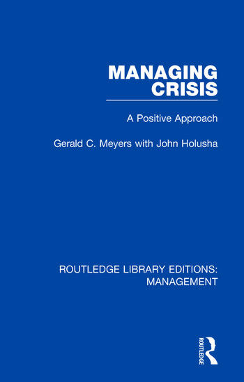 Managing Crisis A Positive Approach book cover