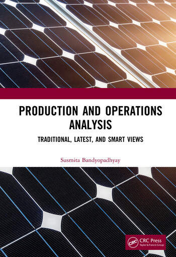 Production and Operations Analysis Traditional, Latest, and Smart Views book cover