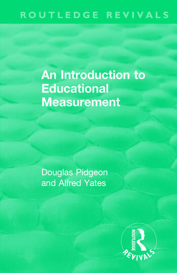 An Introduction to Educational Measurement book cover