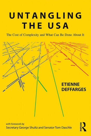 Untangling the USA The Cost of Complexity and What Can Be Done About It book cover