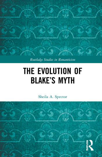 The Evolution of Blake's Myth book cover