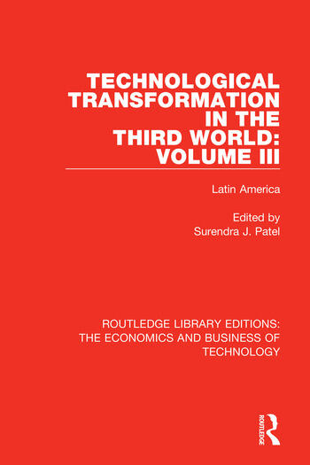 Technological Transformation in the Third World: Volume 3 Latin America book cover