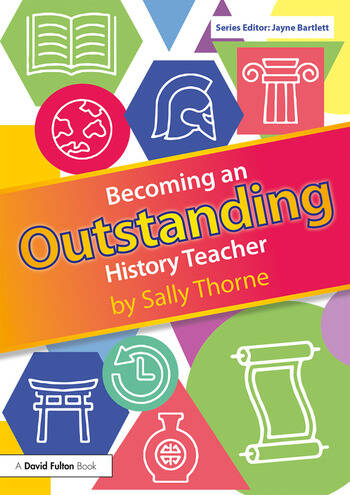 Becoming an Outstanding History Teacher book cover