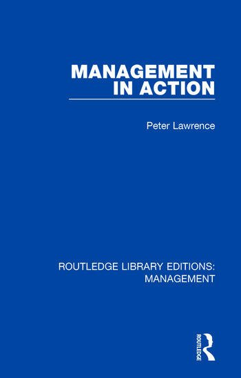 Management in Action book cover