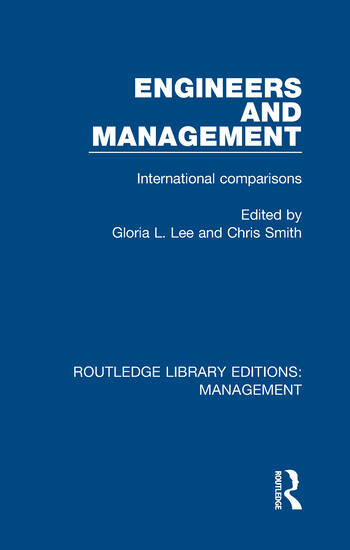 Engineers and Management International Comparisons book cover