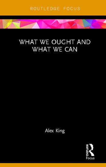 What We Ought and What We Can book cover