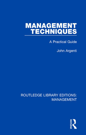 Management Techniques A Practical Guide book cover