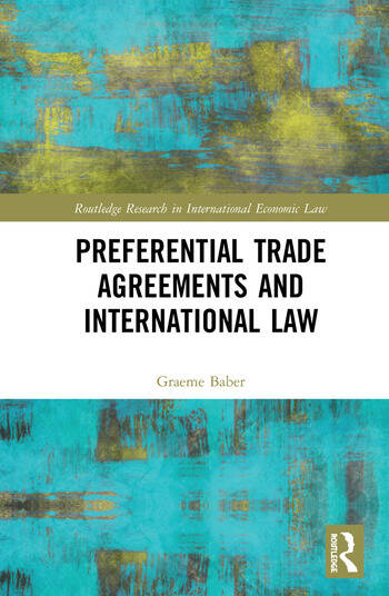 Preferential Trade Agreements and International Law book cover