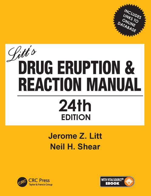 Litt's Drug Eruption & Reaction Manual 24E book cover