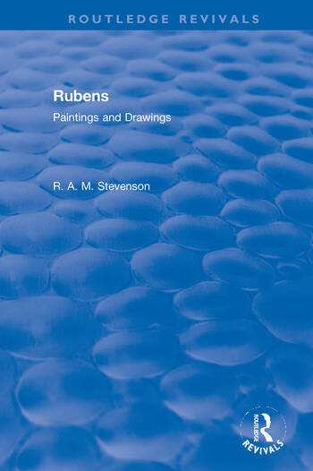 Revival: Rubens (1939) Paintings and Drawings book cover