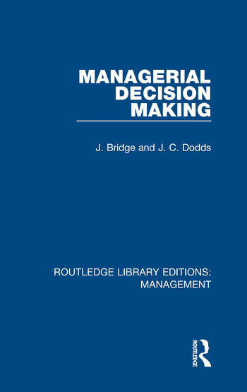 Managerial Decision Making book cover