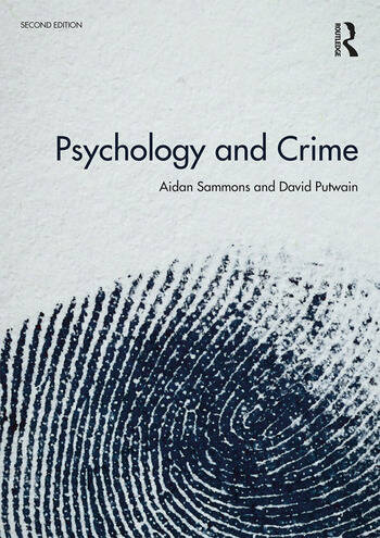 Psychology and Crime 2nd edition book cover