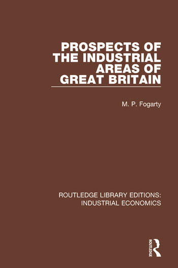 Prospects of the Industrial Areas of Great Britain book cover