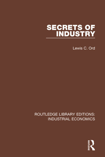 Secrets of Industry book cover