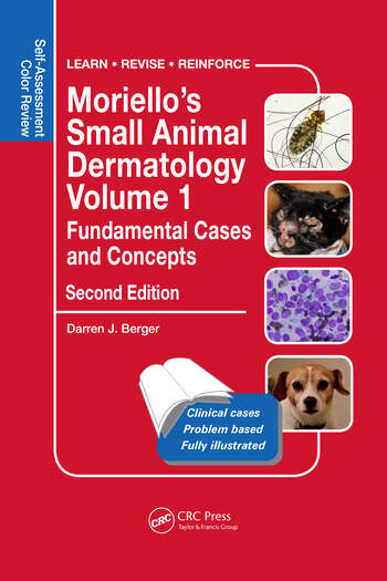 Moriello's Small Animal Dermatology, Fundamental Cases and Concepts Self-Assessment Color Review book cover