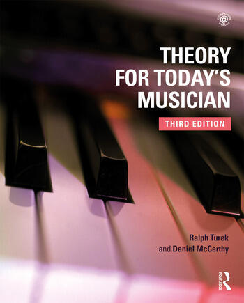 Theory for Today's Musician Textbook, Third Edition book cover