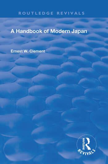 Revival: A Handbook of Modern Japan (1903) book cover
