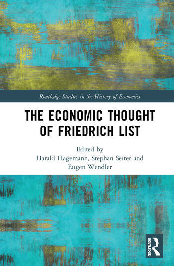 The Economic Thought of Friedrich List book cover
